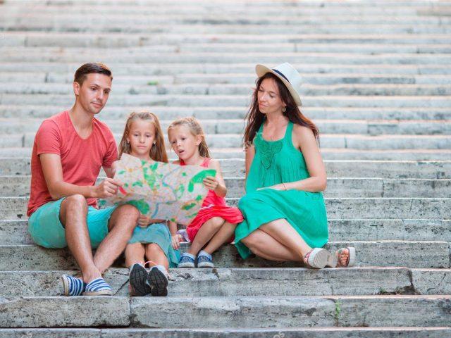 Soggiorno famiglia